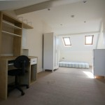 Loft bedroom at Stannington Avenue